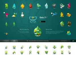 Gaia09 Icons For Windows by c0derider