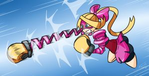 Ribbon Punch by FBende
