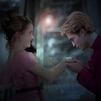 Hermione and Cedric by whenlovetakesover