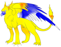 Another griffin adopt by Honey-PawStep