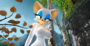 Rouge The Bat in Skyrim by user619