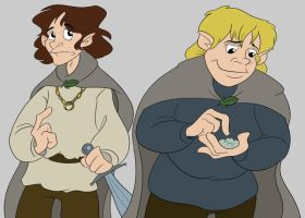 Frodo and Sam by Shaggy28