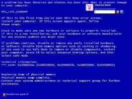 Blue Screen of Death logonui by dakers