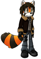 Gabriel the Red Panda by OrionTHedgehog