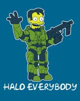Halo Everybody by Ape74