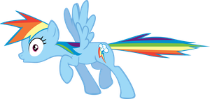 Rainbow Dash Freeze by MoongazePonies