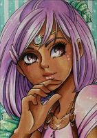 ACEO #66: Amirah by Toto-the-cat