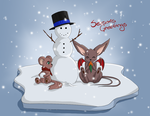Seasons Greetings -card 03- by Shes-t