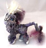 my little pony  cutom kirin fluffy thing by AmbarJulieta