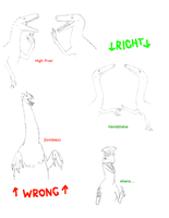 Theropod Etiquette by Orionide5