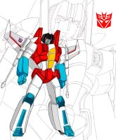 Classic G1 Starscream by Jee-Youn-Lim