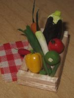 Miniature Vegetables by sonickingscrewdriver