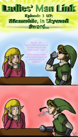 Ladies Man Link Ep 3.5: Meanwhile In Skyward Sword by InkRose98
