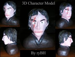 3D Character Sculpture by RyBH