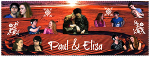 Paul and Elisa Banner by pinkrangerwannabe