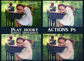 Play hooky   ACTIONS Ps by Tetelle-passion