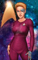 Seven of Nine - Star Trek: Voyager by JamieFayX