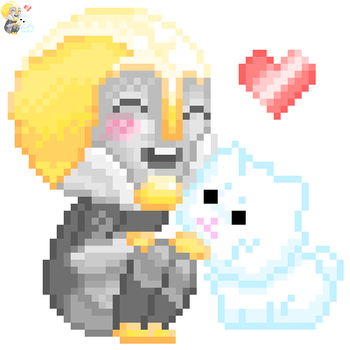 Prince Pixel Icon ver. 2 by KittyKittyKittyzz