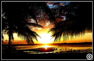 mozambique sun set by insid3out
