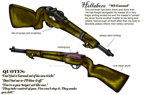 Hellabore the rifle by pookyhorse