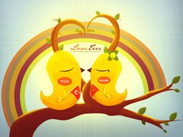 Love tree by firmacomdesign