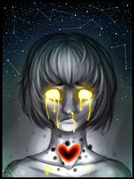 Chara grief by BelieveTheHorror