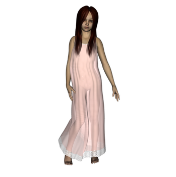 DS4 nightgown test by NikkiWolf315