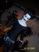 Best Ryuk cosplay ever by LoveCookies