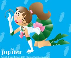 FA Sailor Jupiter Cut Out by MaryBellamy