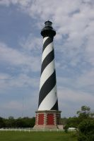 Lighthouse Cape Hatteras by skipsstock