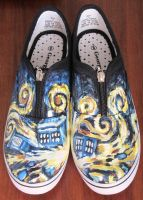 Exploding TARDIS Shoes by Friend-of-Clouds