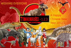 Happy Chinese New Year 2015!! by TyrannosaurusRex-123