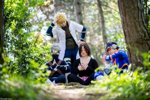 NARUTO: Team Minato As Usual by GianMarqu