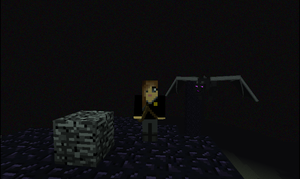 Katniss in Minecraft! by KestrelStarYT