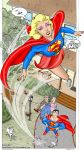 Supergirl Up up and AWAY by powerbook125