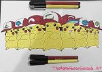 Pikachu -All Ash's Hats~ by TheKalosQueenSerena