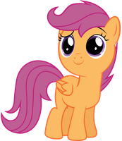 Scootaloo - Hey guys by JoeMasterPencil