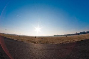 Lens flare example. by Egg-Salad