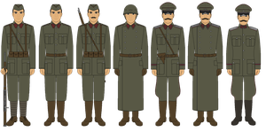 Bordurian Armed Forces Circa 1938 - Revised by JoeyLock