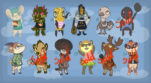 Animal Crossing Adopts! {OPEN} by Ticklebutt