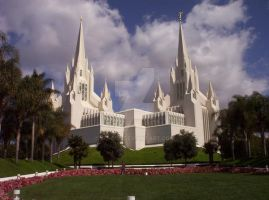 San Diego Temple by john33