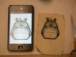 totoro 2 by dottypurrs
