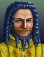 Daario Naharis Portrait by Kittanee