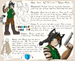 Sands of Abeyance: Xavier Ref by Neko-daewen