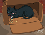 The Scourge on the name of all good cats by Alibeats
