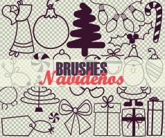 Brushes Navidenos PS by PrettyLadySwag