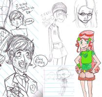 Madness? This. Is. SKETCHDUMP by pinkfizzypops