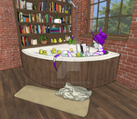 Reading for the duckies by ithor