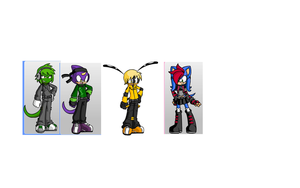older team chaotix by angle243