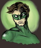 The Man in Green by mec-canic